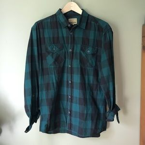 Other - Men's Plaid Button Down Shirt